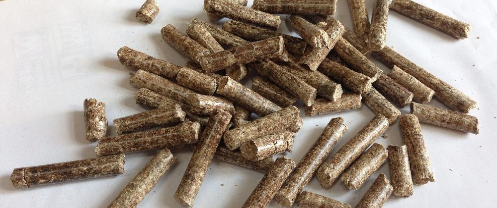 acacia wood pellet