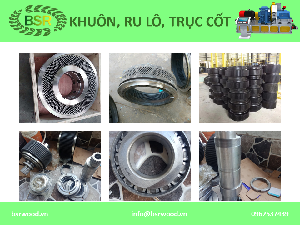 khuon may ep vien pellet die ring die flat die